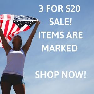 Other - SALE! 3 for $20. Items marked